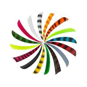 """Bearpaw 5"""" Naturfaner - Ensfarvet - Parabol - Gul"""