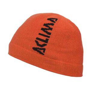 Aclima Jib Beanie, Warmwool/Woolnet lue - oransje
