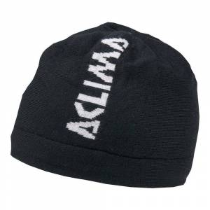 Aclima Jib Beanie, Warmwool/Woolnet lue - sort