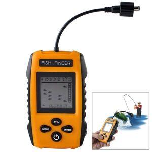 Fish Finder med Sonar Sensor & LCD Display