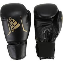 adidas Luvas de Boxe adidas Speed 50 Plus - 12 OZ - Adulto - PRETO/OURO