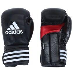 adidas Luvas de Boxe adidas Power 200 Training - 16 OZ - Adulto - PRETO/VERMELHO