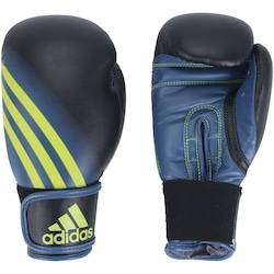 adidas Luvas de Boxe adidas Speed 100 - 6 OZ - Adulto - Preto/Amarelo Fluor