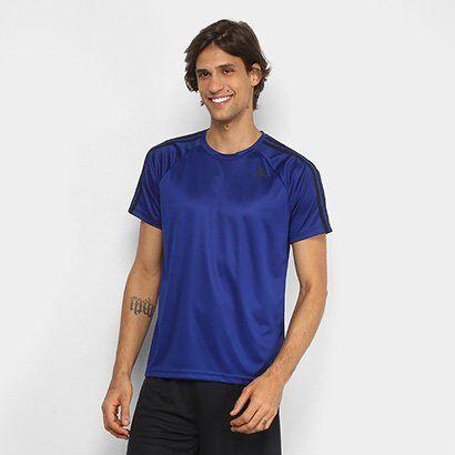 Camiseta Adidas D2M 3Stripes Masculina - Masculino