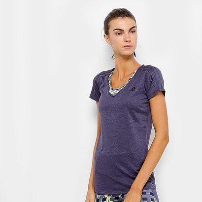 Camiseta Adidas Multifuncional 3S Feminina - Feminino