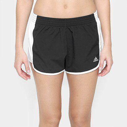 Short Adidas 100M Dash Feminino - Feminino