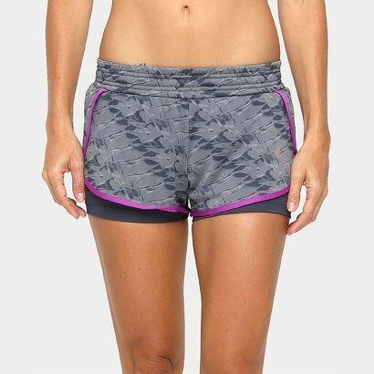 Short Adidas Duplo Gráfica WKT Feminino - Feminino