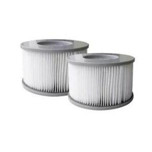 Abilica MSpa 2-pak filter 90 lameller 1 x 2 filtre (Tilbehør til spabade)