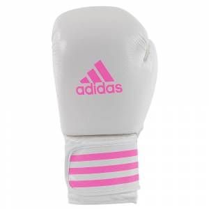 Adidas Fitness Boxhandske Vit/rosa 14 oz