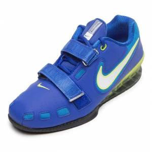 Nike Tyngdlyftningsskor Romaleos 2 Blå/Gul 36