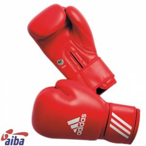 Adidas Aiba Boxhandskar Röda