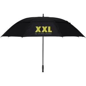 XXL 34'' Storm Umbrella, golfparaply One Size BLACK