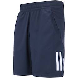 adidas Bermuda com Proteção Solar UV adidas Club - Masculina - AZUL ESCURO