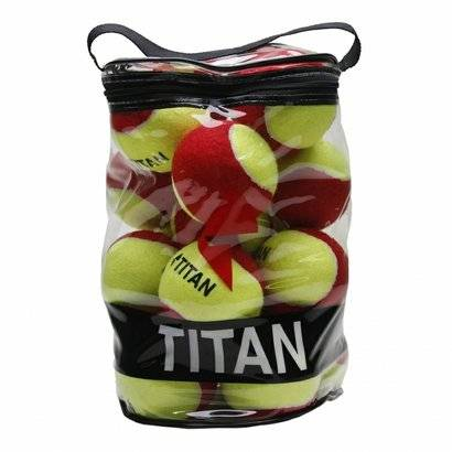 Bola Titan De Tnis Kids Stagy 3 Pack C/ 20 Bolas - Unissex