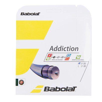 Corda Babolat Addiction 17L 1.25mm Natural - Set Individual - Unissex
