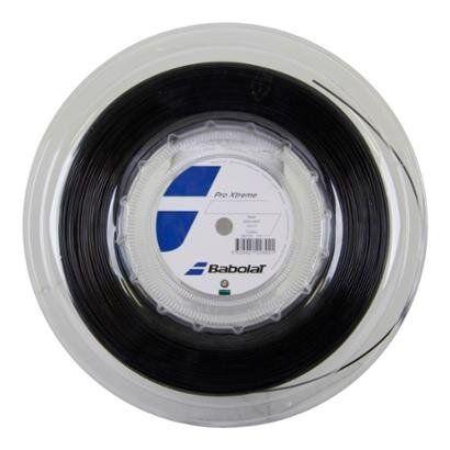 Corda Babolat Pro Xtreme 17L 1.25mm Prata Rolo com 200 Metros - Unissex