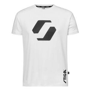 Stiga Base Padel T-shirt vit