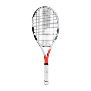 Babolat - Boost Strike strung tennis racket (vit/röd) - L4 (4 1/2)