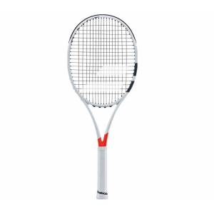 Babolat - Pure Strike 18/20 osträngad tennisracket (vit/röd) - L3 (4 3/8)