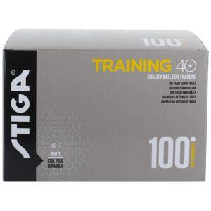 Stiga Bordtennisboll STIGA Training vit 100/F