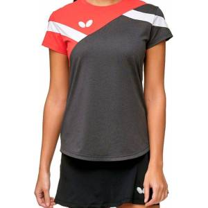 Butterfly Yao Lady Red/grey