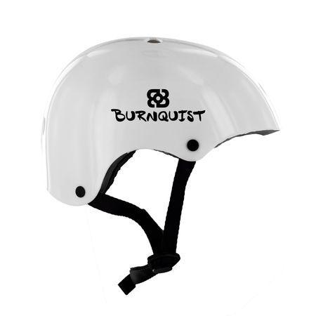 Atrio Esportes Capacete Bob Burnquist Coquinho Branco G - ES085 ES085