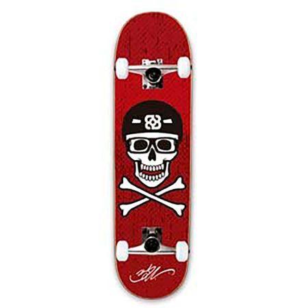 Atrio Esportes Skate Street Bob Burnquist Caveira Vermelho - ES074 ES074