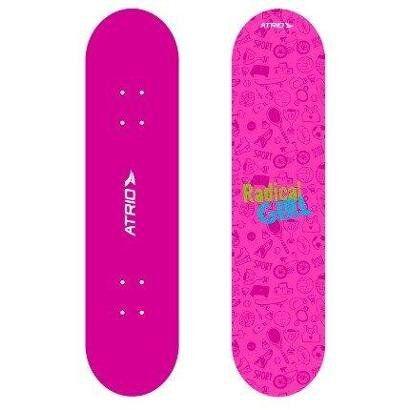 Skate Infantil Feminino Rosa - Atrio - Unissex