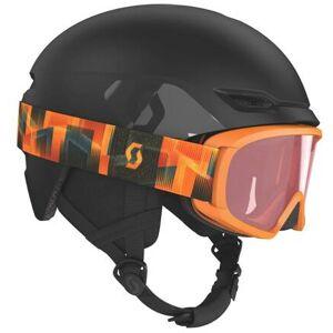 Scott Keeper 2 Junior Ski Hjelm + Witty Junior Goggles (Svart)