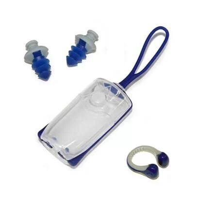 Kit Clips Protetores P/ Ouvido E Nariz Aqua Sphere - Unissex