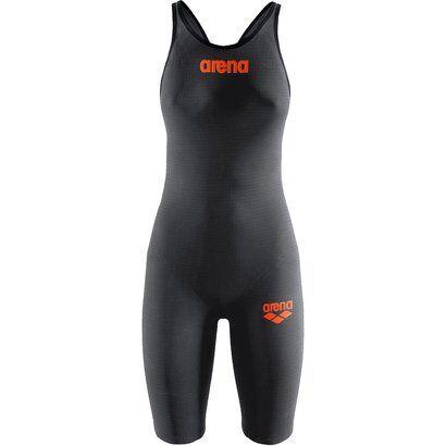 Maiô Arena Full Body Short Leg Open Powerskin Carbon Pro - Feminino