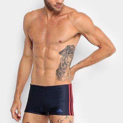 Sunga Boxer Adidas EC3S BX - Masculino
