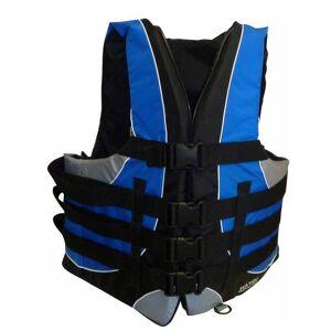 Vannsportsvest blå/sort xxl +70kg