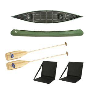 Ally kano 18 grønn m/årer og ryggstøtter