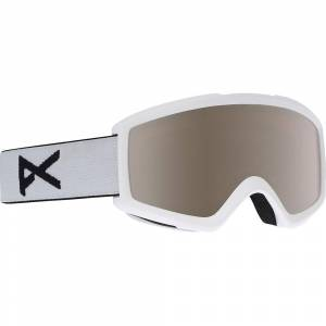 Anon Helix 2.0 F:White + Lens - Silver Amber One