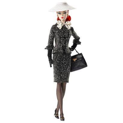 Boneca Barbie Colecionvel - Barbie - Tweed Suit - Mattel - Feminino