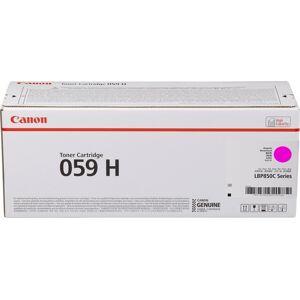 Canon 059 H Lasertoner, Magenta, 13.500 Sider