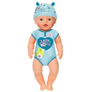 Baby Born Dukke - Blød Dreng Med Brune øjne