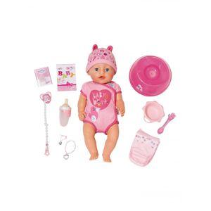 Baby Born - Blød Dukke Med Blå øjne