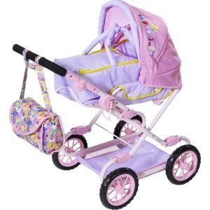 Baby Born - Deluxe Dukkevogn - Dukke Barnevogn - Pink