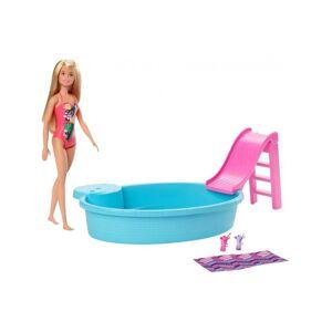 Barbie Pool Og Dukke Legesæt