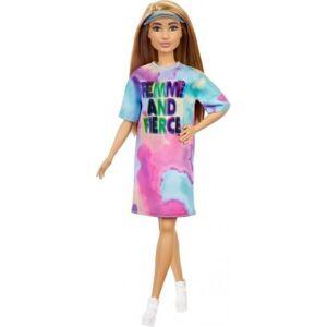 Barbie - Fashionistas Dukke Med Tøj - Tie Dye Kjole