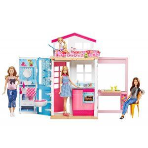Barbie Dukkehus Med Dukke