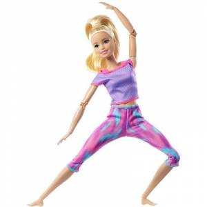 Barbie - Made To Move Dukke - Blond