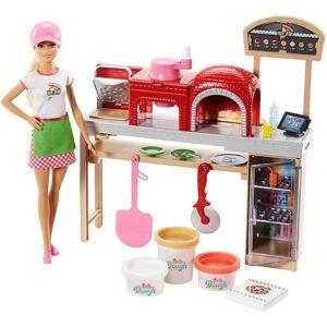 Barbie Pizza Kok Dukke Og Legesæt
