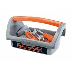 Black & Decker Værktøjskasse For Børn Inkl. Trækvogn
