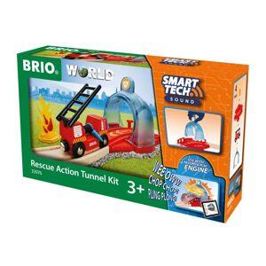 Brio World - Smart Tech Tog Og Tunnel Redningssæt - 33976