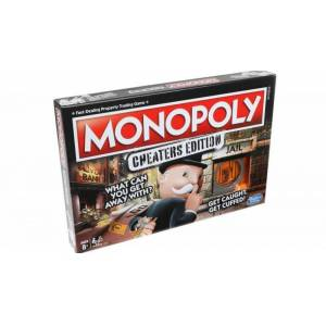 Hasbro Monopoly: Cheaters Edition - Hasbro Brætspil - Dk/no