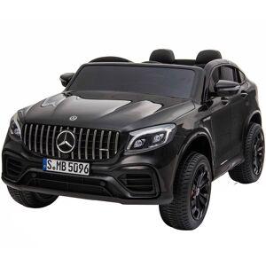 hjemmeudstyr Mercedes Glc 63s Coupe Sort 12volt, 4x12v Motorer, 2x12v Batteri