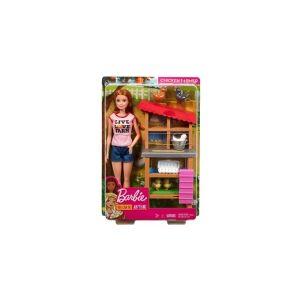 Barbie Career Chicken Feeding Farmer (DHB63/FXP15)